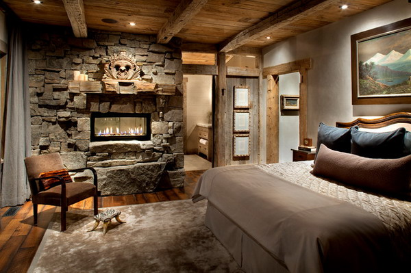 Cozy-Bedroom-Ideas-with-Stoned-Fireplace