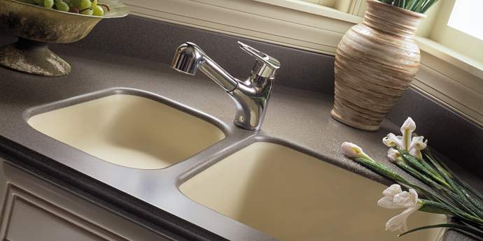 The great countertop debate dream house dream kitchens for Corian countertop price