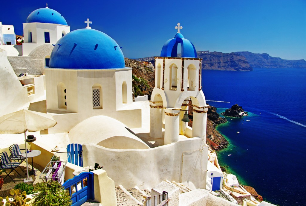 greek blue - greece