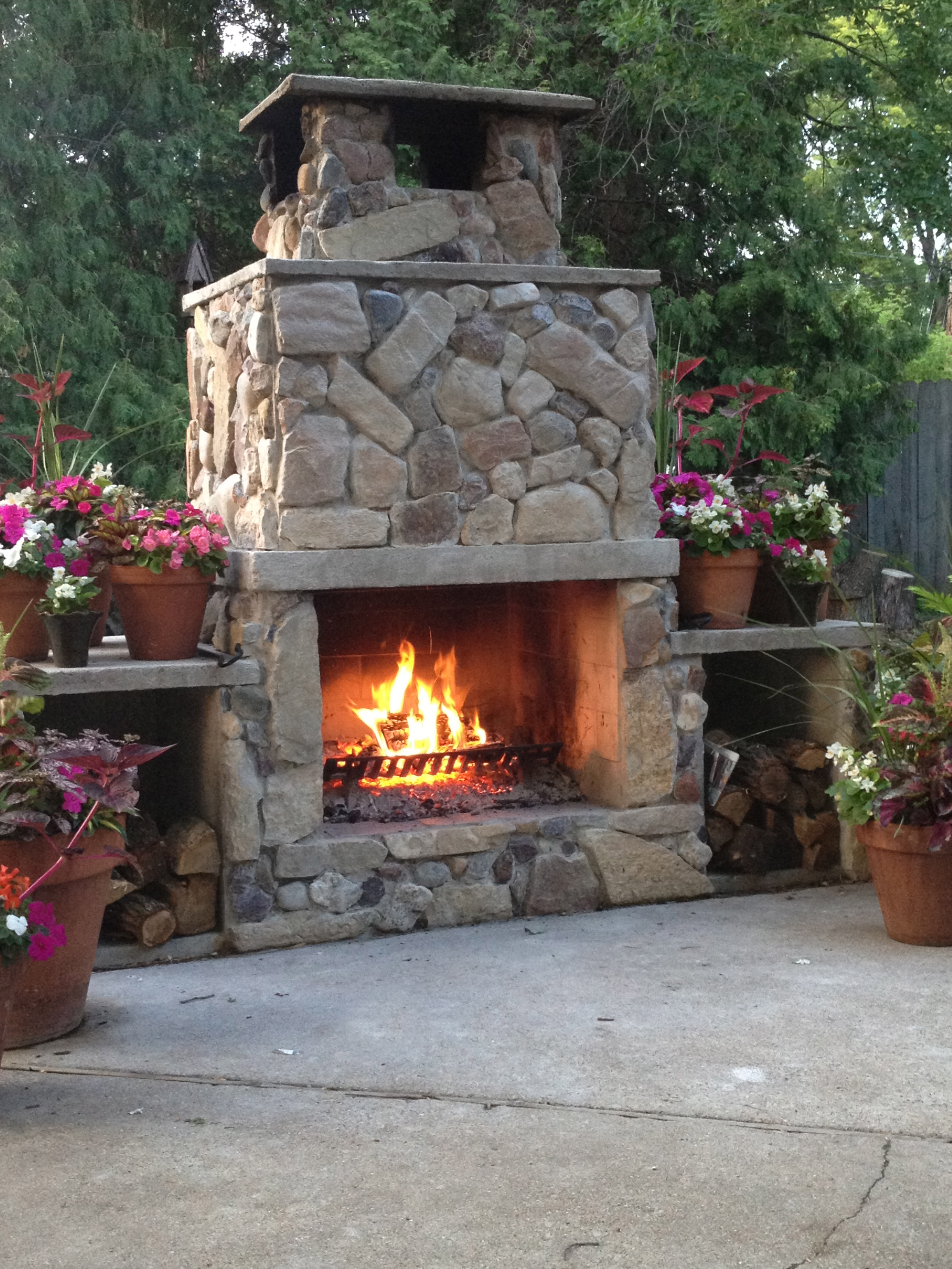 A Conversation With Stone Dream House Dream Kitchens . Madison Fireplace  And Patio American Hearth