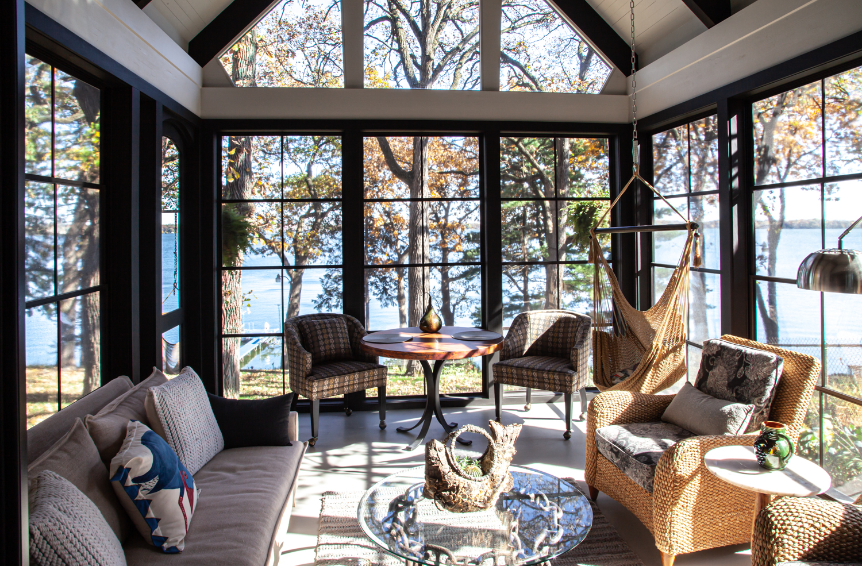 Sun room on the lake Dream House Dream Kitchens